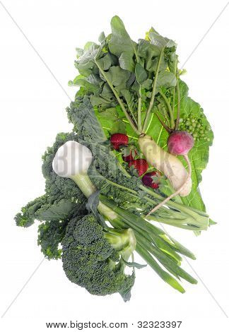 Fresh Farm Organic Vegetables