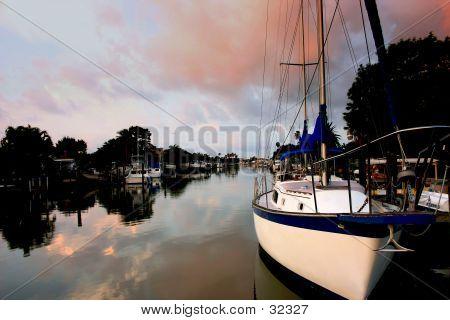 Sail Boat Morning