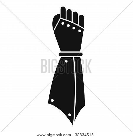 Knight Hand Icon. Simple Illustration Of Knight Hand Vector Icon For Web Design Isolated On White Ba