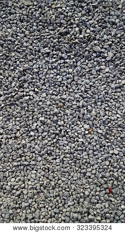 Stones Texture Of Industrial Pebbles Material For Construction