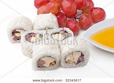 Sushi With Fruit