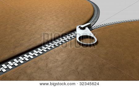 Zipper Three Quarter Perspective