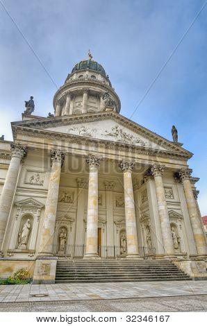 The Franzosischer Dom At Berlin, Germany