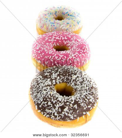 Row Of Donuts