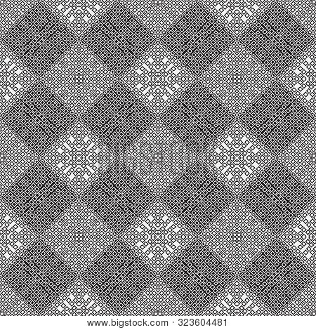 Modern Linear Seamless Pattern. Psychodelic Background. An Abstract Geometrical Ornament Of Design F