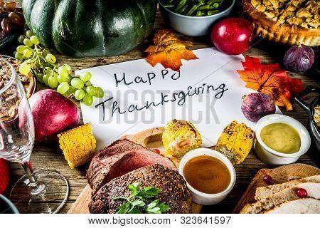 Thanksgiving Dinner Concept