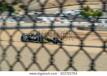 September 21, 2019 - Salinas, California, USA: Marcus Ericsson (7) (R) of Kamla, Sweden practices for the Firestone Grand Prix of Monterey at Weathertech Raceway Laguna Seca in Salinas, California.