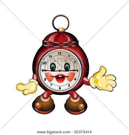 cute cartoon clock