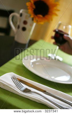 Detalhe do restaurante