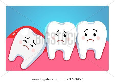 Wisdom Tooth Character, Third Molar Tooth Problem