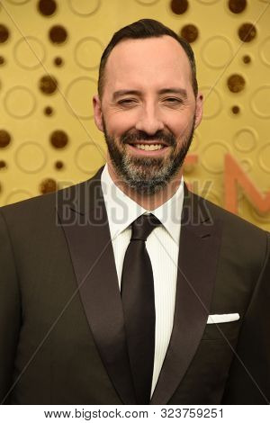 LOS ANGELES - SEP 22:  Tony Hale at the Primetime Emmy Awards - Arrivals at the Microsoft Theater on September 22, 2019 in Los Angeles, CA