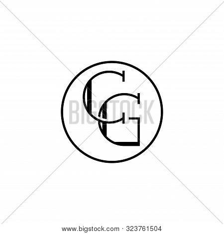 Creative Modern Elegant Trendy Unique Artistic Cg Initial Based Letter Icon Logo, Cg Letter Vector L