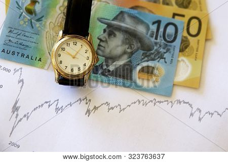 Concept Of Time In The Market To Build Wealth.