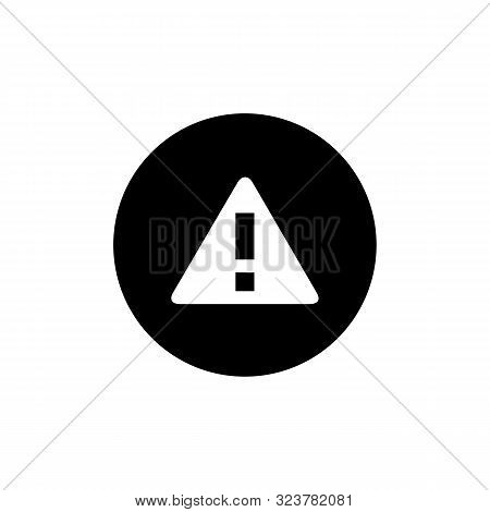 Warning Icon Isolated On White Background. Warning Icon In Trendy Design Style. Warning Vector Icon