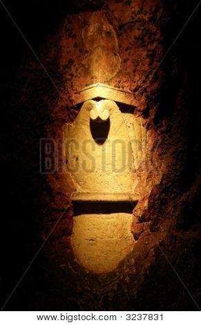 Ancient Lit Column