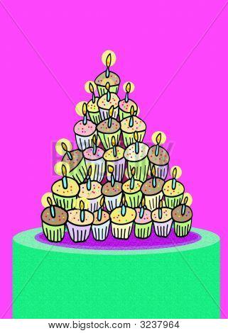Bs Cupcake Birthday Copy