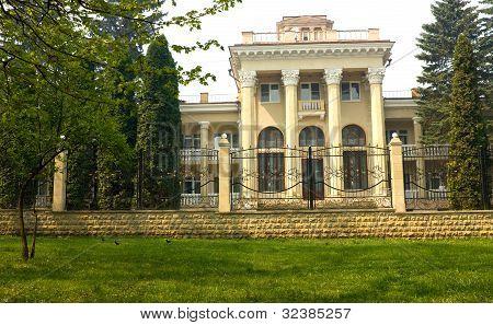 Old Sanatorium In Kislovodsk.