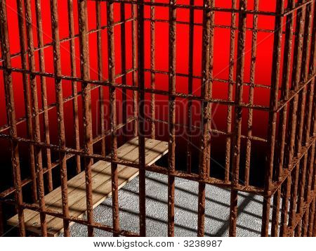 Metal Cage 3D, Concept Of Jail
