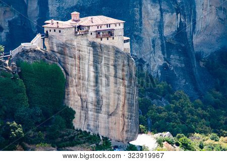 meteora is included in the UNESCO World Heritage Site. Meteora is a big monastery complex including nine reserved monastery built on top of difficult high cliffs resembling stone pillars 400 meters