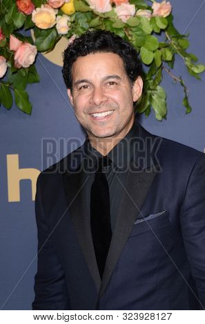 LOS ANGELES - SEP 22:  Jon Huertas at the Walt Disney Television Emmy Party at the Otium on September 22, 2019 in Los Angeles, CA