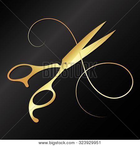 Scissors And Curl Hair Golden Beauty Salon