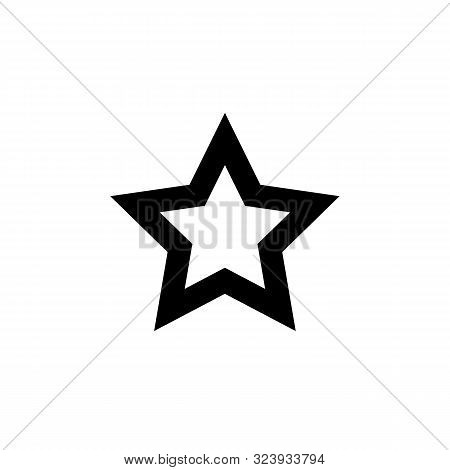 Star Icon Logo. Star Icon Vector Image. Star Icon Picture On White Background.