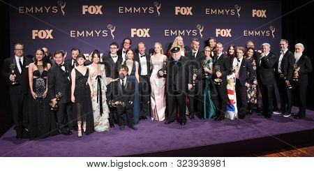 LOS ANGELES - SEP 22:  Game of Thrones at the Emmy Awards 2019: PRESS ROOM at the Microsoft Theater on September 22, 2019 in Los Angeles, CA