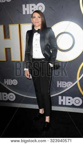 Clea DuVall at the HBO's Official 2019 Emmy After Party held at the Pacific Design Center in West Hollywood, USA on September 22, 2019.