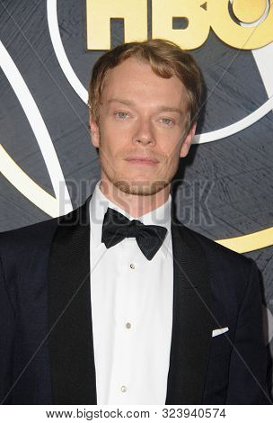 Alfie Allen at the HBO's Official 2019 Emmy After Party held at the Pacific Design Center in West Hollywood, USA on September 22, 2019.