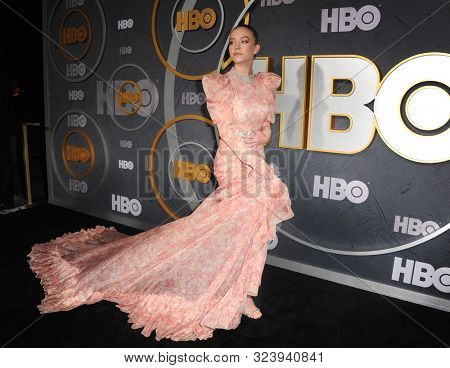 Sydney Sweeney at the HBO's Official 2019 Emmy After Party held at the Pacific Design Center in West Hollywood, USA on September 22, 2019.