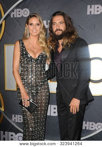 Heidi Klum and Tom Kaulitz at the HBO's Official 2019 Emmy After Party held at the Pacific Design Center in West Hollywood, USA on September 22, 2019.