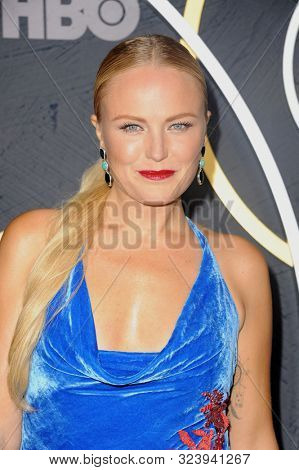 Malin Akerman at the HBO's Official 2019 Emmy After Party held at the Pacific Design Center in West Hollywood, USA on September 22, 2019.