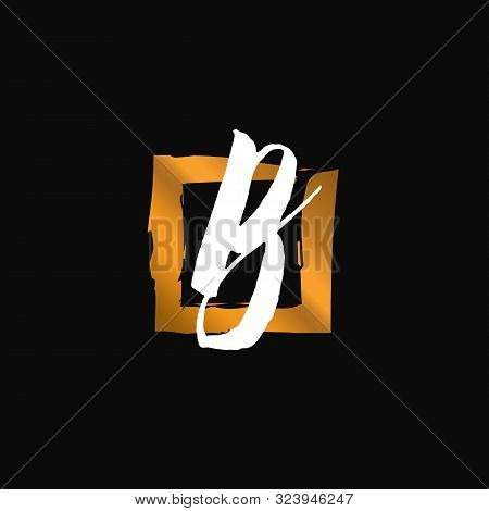 B. B Monogram Logo. B Letter Logo Design Vector Illustration Template. B Logo Vector. Creative Lette