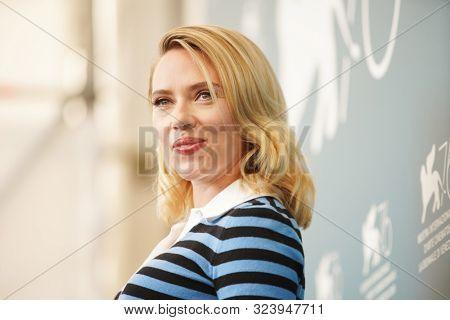 Scarlett Johansson attends