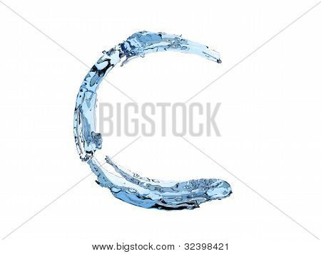 C Letter Water