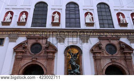 St Michaels Church In Munich - City Of Munich, Germany - June 03, 2021
