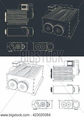 Shredder Machine Blueprints
