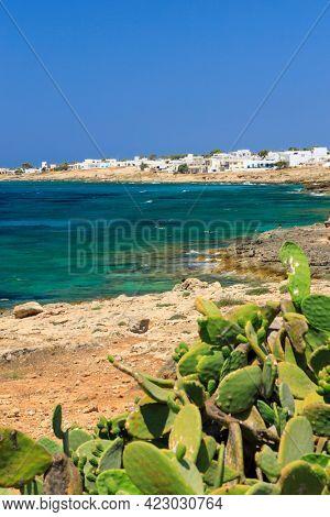 Beach near Gallipoli, Lecce, Apulia, Italy