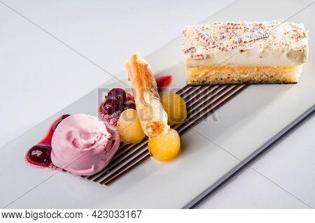 Cake Dessert For Fine Palates - Summer Dessert