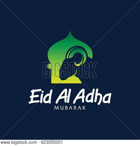 Eid Al Adha Vector. Eid Al Adha Illustration. Vector Graphic Of Good For Islamic Day, Eid Mubarak, E