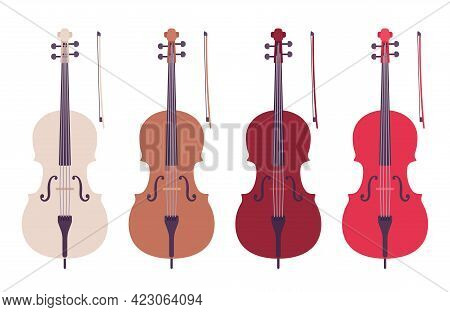 Cello Double Bass, Symphony Orchestra Bowed String Instrument. Concertos, Solo, Classical Chamber Mu