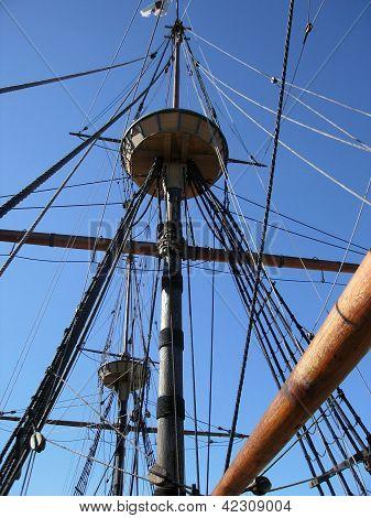 Mayflower 2nd Detail