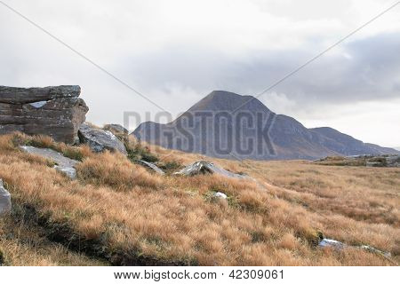 Scottish Landscape Near Stac Pollaidh