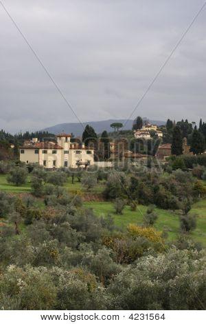 Tuscany From The Boboli Gardens