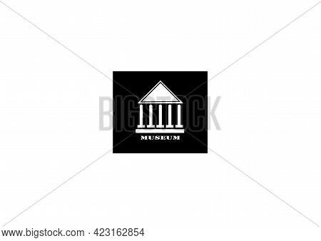 Illustration Historic Building Design Logo Architecture Vector