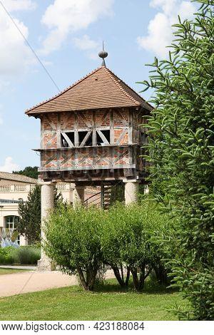 Dovecote In Georges Blanc Park In Vonnas, France
