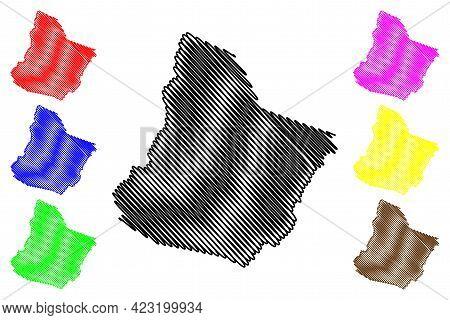 Highland County, Commonwealth Of Virginia (u.s. County, United States Of America, Usa, U.s., Us) Map