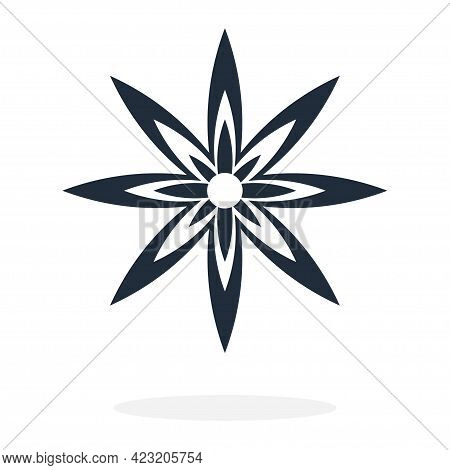 Anise. Simple Icon. Flat Style Element For Graphic Design. Vector Eps10 Illustration.