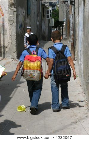 Boys In Gaza