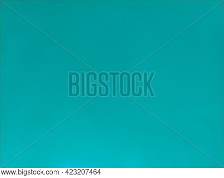 Background From Colored Paper. Wallpaper Texture Detail Background In Shiny Cyan Blue Green Turquois